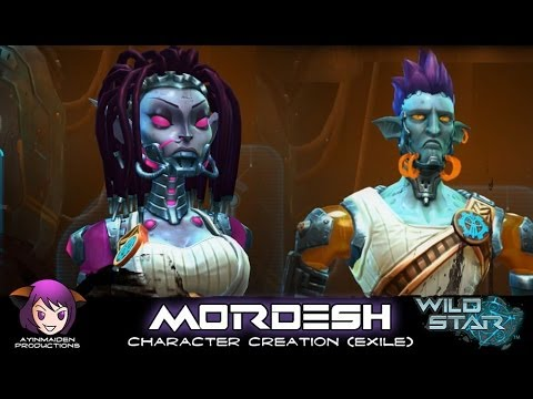 WildStar ★ - Character Creation - Mordesh (Exile) - YouTube