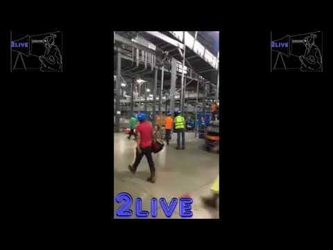 Mexican Workers In This Factory All Walked Off The Job After A Few Were Sent Home