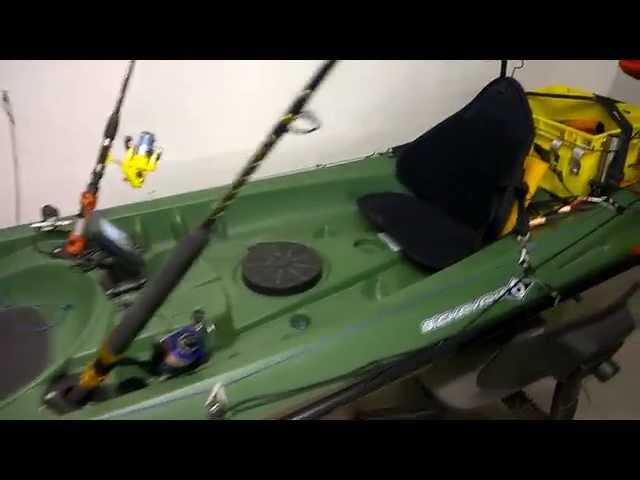 Setup kayak trinidad con motore . by Paperi Maurizio