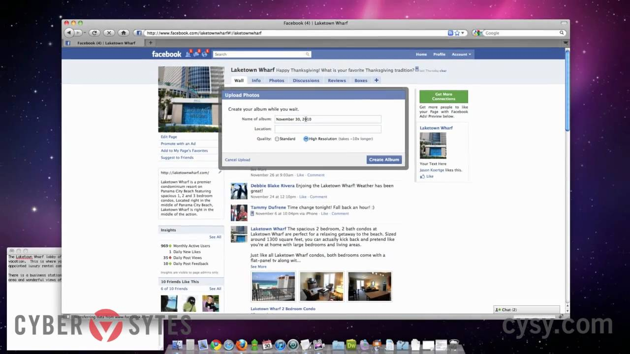 Photo Page: How To Create An Photo Album On A Facebook Page