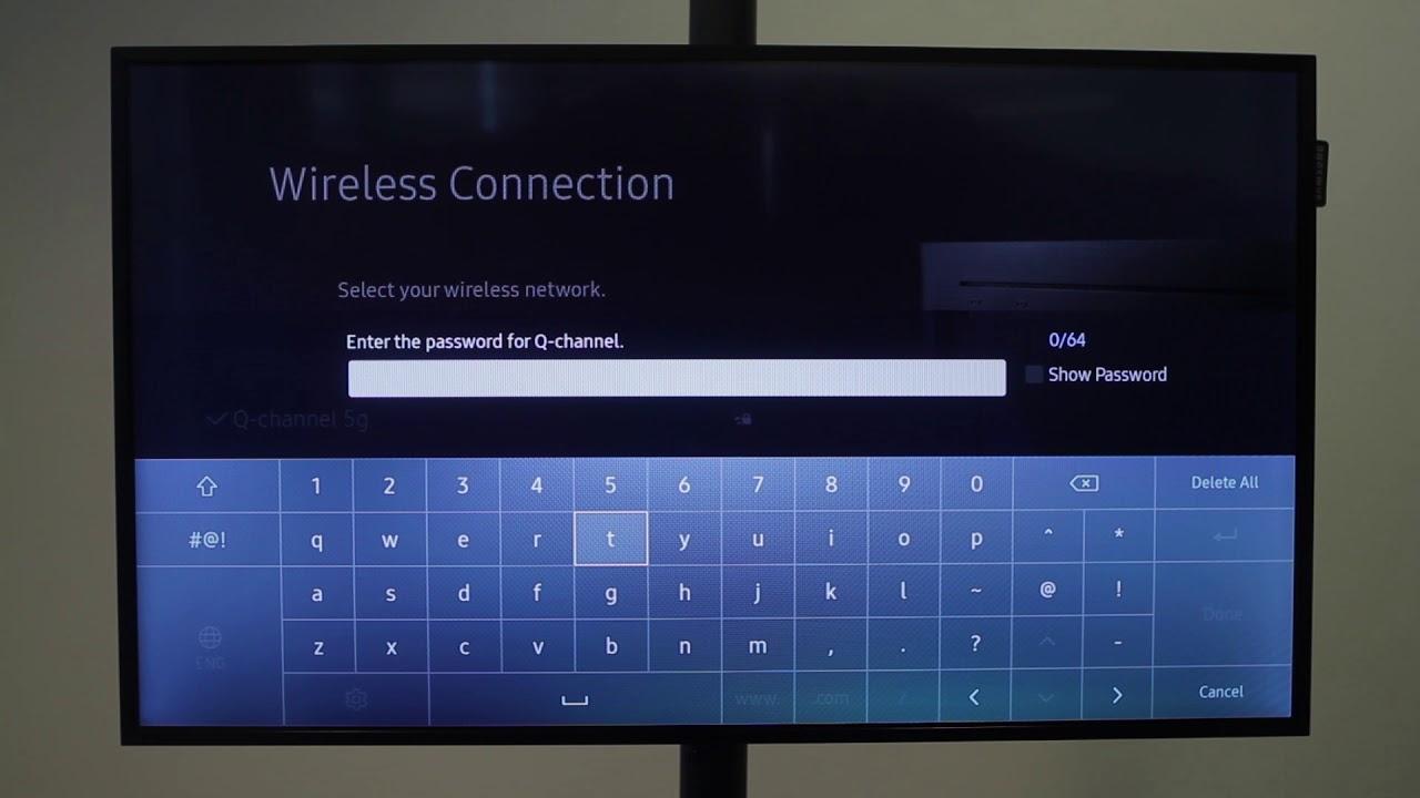Topmoderne Anslut till Wifi med smart- tv modell 2 - YouTube PB-28