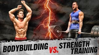 Bodybuilding VS  Strength Training | ARE YOU DOING THE RIGHT WORKOUTS?