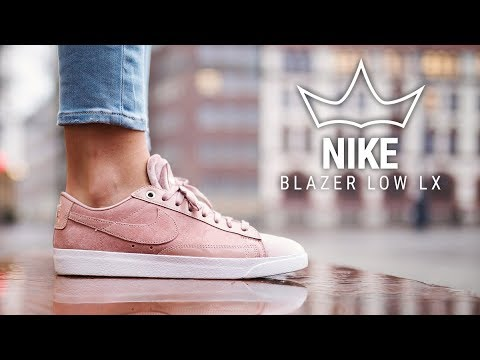 "Nike Blazer Low LX ""Silt Red"" On Feet Video"