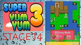 Super Yum Yum 3 stage 14 - gameplay