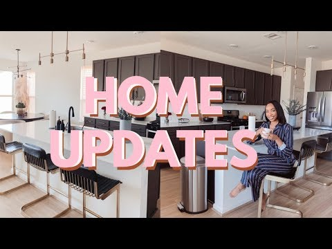 MAJOR HOME UPDATES (EVERYTHING WE'VE DONE TO OUR NEW HOUSE SO FAR!) | VLOG WEEK DAY 1