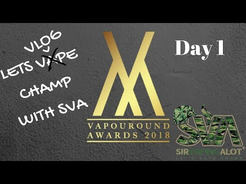 Vapouround judging day 1 vaper expo 2018