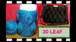Video Crochet    jar's cover 3D leaf download MP3, 3GP, MP4, WEBM, AVI, FLV Agustus 2018