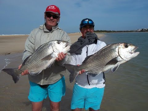 Eastern Cape Fishing - Muscle Cracker, Lerrie, Grunter With The Lilford Family (Big)