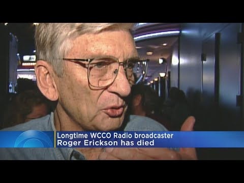WCCO Radio Legend Roger Erickson Dies At 89