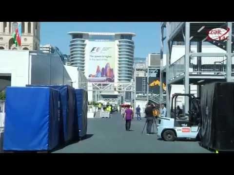 Подготовка к «Формуле-1» в Баку подходит к концу