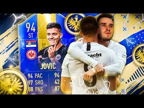 FIFA 19: TOTS LUKA JOVIC SQUAD BUILDER BATTLE vs FEELFIFA🔥🔥
