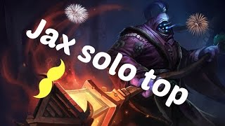 LEAGUE OF LEGENDS: Solo top Jax (En compagnie de Nacky.)