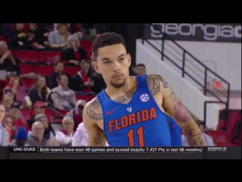 2016 17 Basketball Florida at Georgia 720P