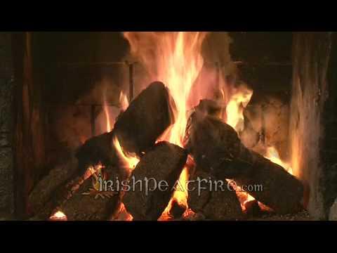 Irish Peat Turf Fire - YouTube