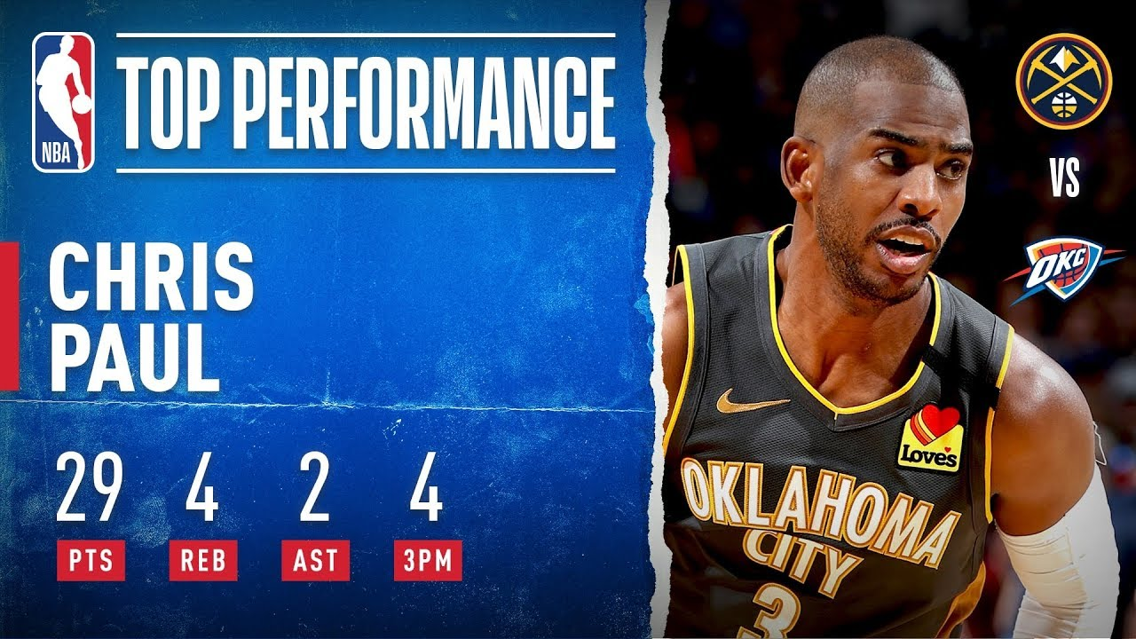 CP3 TAKES OVER In Home W!