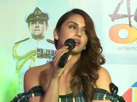 Bollywood actress promotes historical drama in New Delhi
