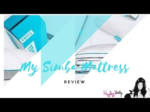 """My SIMBA HYBRID MATTRESS Review - Hayley As Seen On Channel 4's """"Obsessive Compulsive Cleaners"""""""