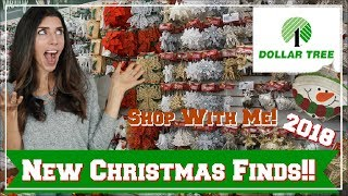 NEW DOLLAR TREE CHRISTMAS FINDS + MORE | CHRISTMAS SHOP WITH ME | Momma From Scratch