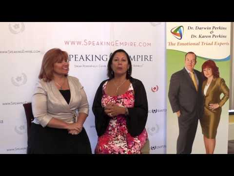 Dr. Karen Perkins Interviews Nancy Peña Brink at the Speaking & Marketing Academy