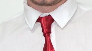 Как завязывать галстук узел Ван вейк How to tie a tie knot Van Wijk