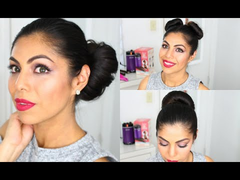 CONAIR BUN 2 DONE How To Tutorial 4 Easy Looks | FABIOLAG
