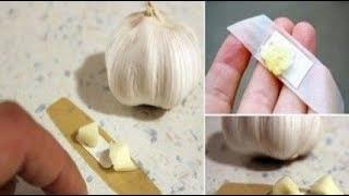 ✅ Κόλλησε Αυτό το Κομμάτι Σκόρδου Στο Δέρμα Σου και Δες τι Εκπληκτικό θα Συμβεί!