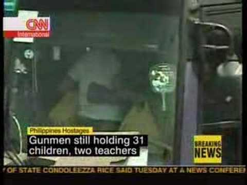 Phillippines Hostages: CNN Coverage