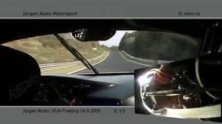 VLN 2005 - Jürgen Alzen Motosport - Porsche 996 GT2 Turbo - Uwe Alzen - Onboard 5