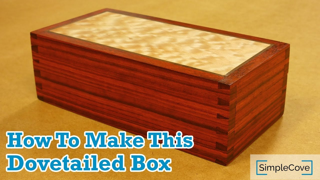 How To Make A Dovetailed Box Easily Cut Dovetails With This Jig