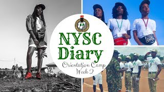 The NYSC Diary Ep. 2  - Orientation camp( Miss NYSC & Mr Macho ) / Blessynkure