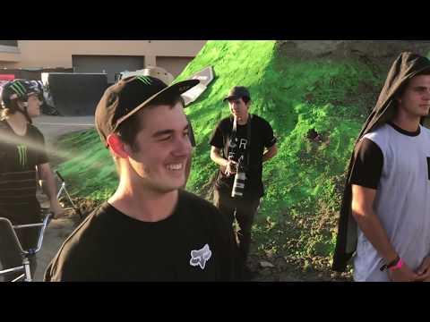Triple challenge/Vans skatepark