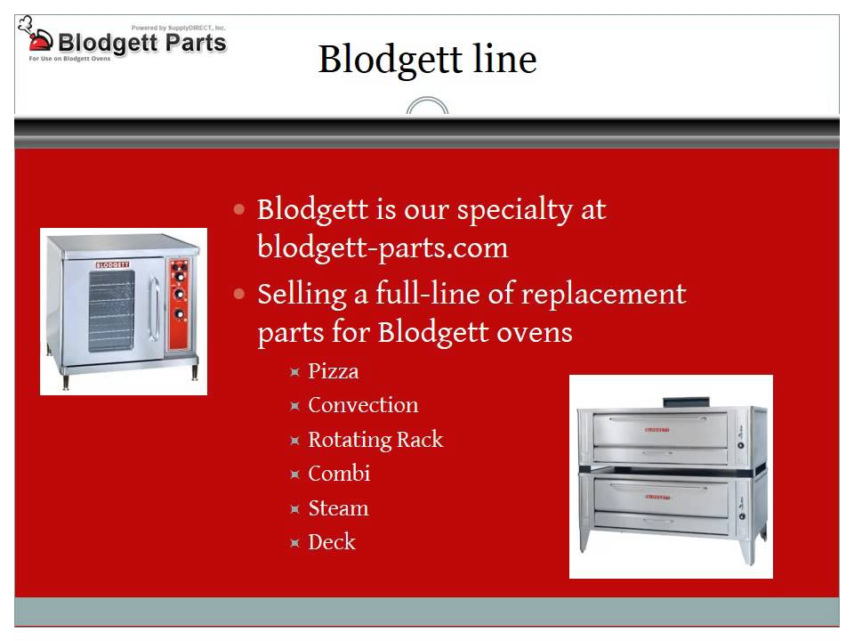 Blodgett Convection Oven Parts TOP 10 Searching Results