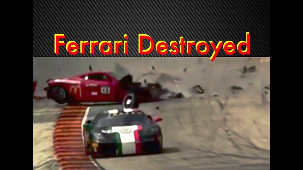 ccr ferrari challenge crash with sound at road america - youtube