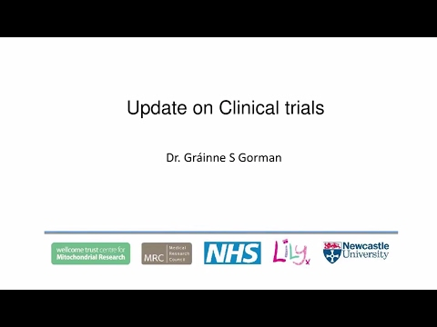 Mitochondrial patient information day 2016: An Update on clinical trials