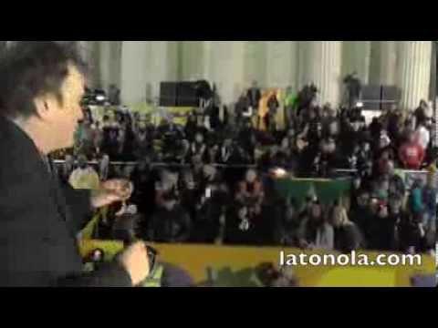Quentin Tarantino's Speech at Orpheus Mardi Gras Parade