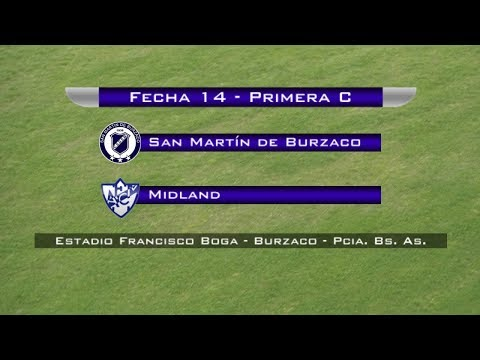 Fecha 14: San Martín de Burzaco vs Midland - EN VIVO