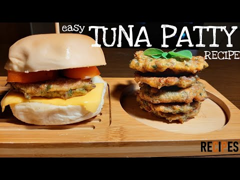 How To Make Tuna Patty Recipe - Easy | Canned Tuna Recipes |