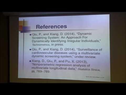 UM Division of Biostatistics Seminar Series (2013-14) - Peihua Qiu, PhD