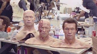 Съемки фильма Терминатор 2: Судный день 1991 по ту сторону камеры