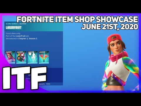 Fortnite Item Shop *NEW* LOSERFRUIT SET! [June 21st, 2020] (Fortnite Battle Royale)