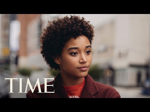 Amandla Stenberg On 'The Hate U Give,' The Political Climate & More  Next Generation Leaders  TIME