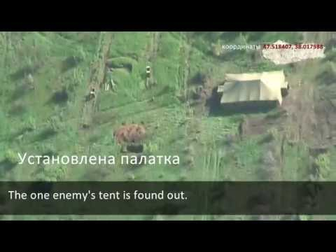 Drones Found Russian Base Inside Ukraine 2km from Demarcation Line. Russia Is Preparing to Attack.