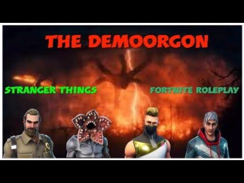 Fortnite Roleplay Stranger Things Ep 2 The Demogorgan