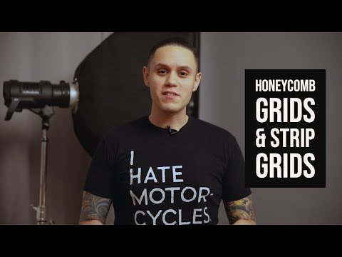 Controlling Light | Honeycomb Grids and Strip Grids