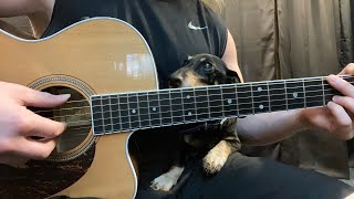 The Beatles - Yesterday - Fingerstyle Guitar - Piano Accompaniment