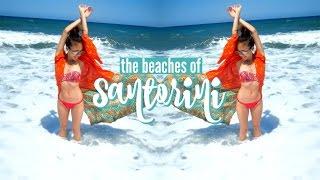 The Beaches Of Santorini | Greece VLOG