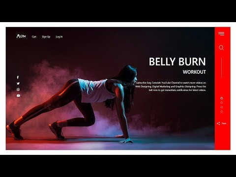 How To Create A Website Using HTML CSS And Bootstrap | Latest Website Design