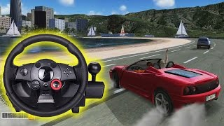 Outrun Online Arcade - with force feedback (PS3)
