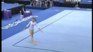 Viktoria Komova 2010 Youth Olympics AA FX (CCTV)