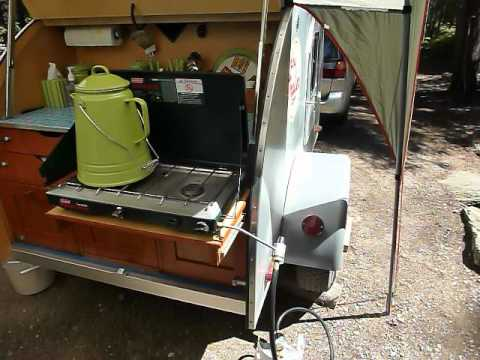 Tiny Trailer Teardrop Camping Trailer YouTube